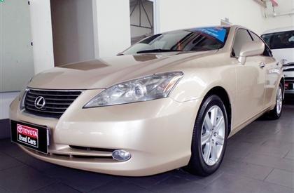 Bán ô tô Lexus ES đời 2006, màu vàng, xe nhập-0
