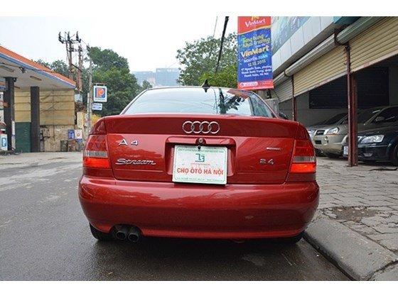 Bán Audi A4 sản xuất 2000, màu đỏ, nhập khẩu chính hãng số sàn, 345tr-11
