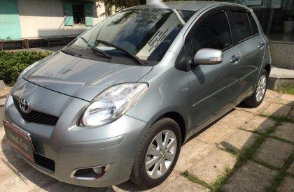 Bán ô tô Toyota Yaris đời 2012, màu bạc, nhập khẩu, số tự động-1