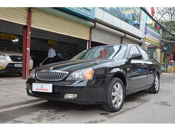 Bán xe Daewoo Magnus đời 2004, màu đen, nhập khẩu chính hãng, số tự động  -9