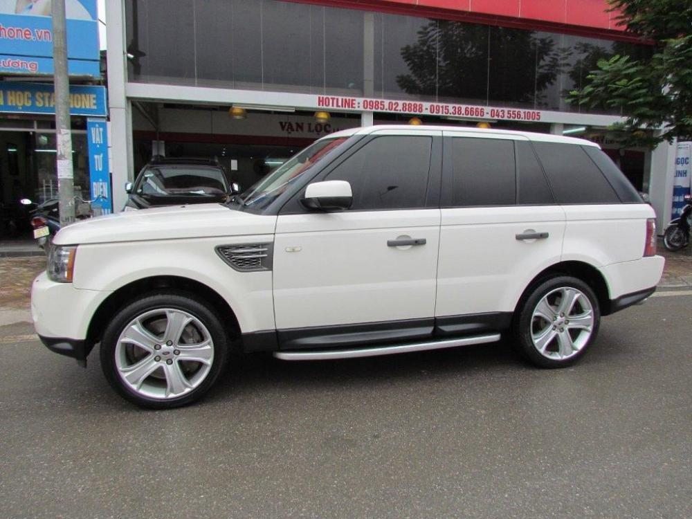 Cần bán xe LandRover Range rover đời 2011, màu trắng, nhập khẩu nguyên chiếc-0