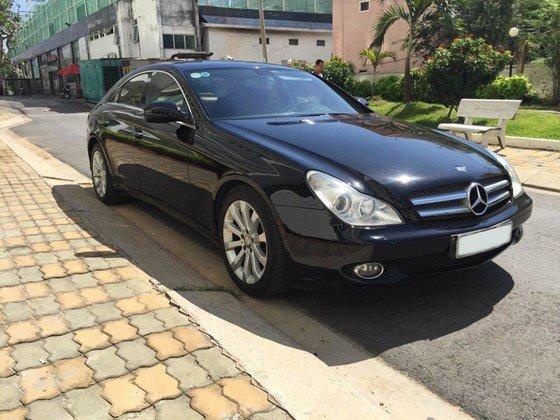 Bán ô tô Mercedes CLS350 2008, màu đen, nhập khẩu, xe gia đình-3