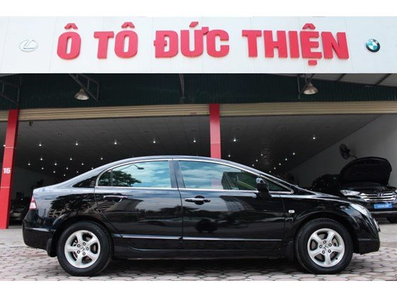 Bán xe Honda Civic năm 2008, màu đen, nhập khẩu nguyên chiếc, số tự động, 500 triệu-0
