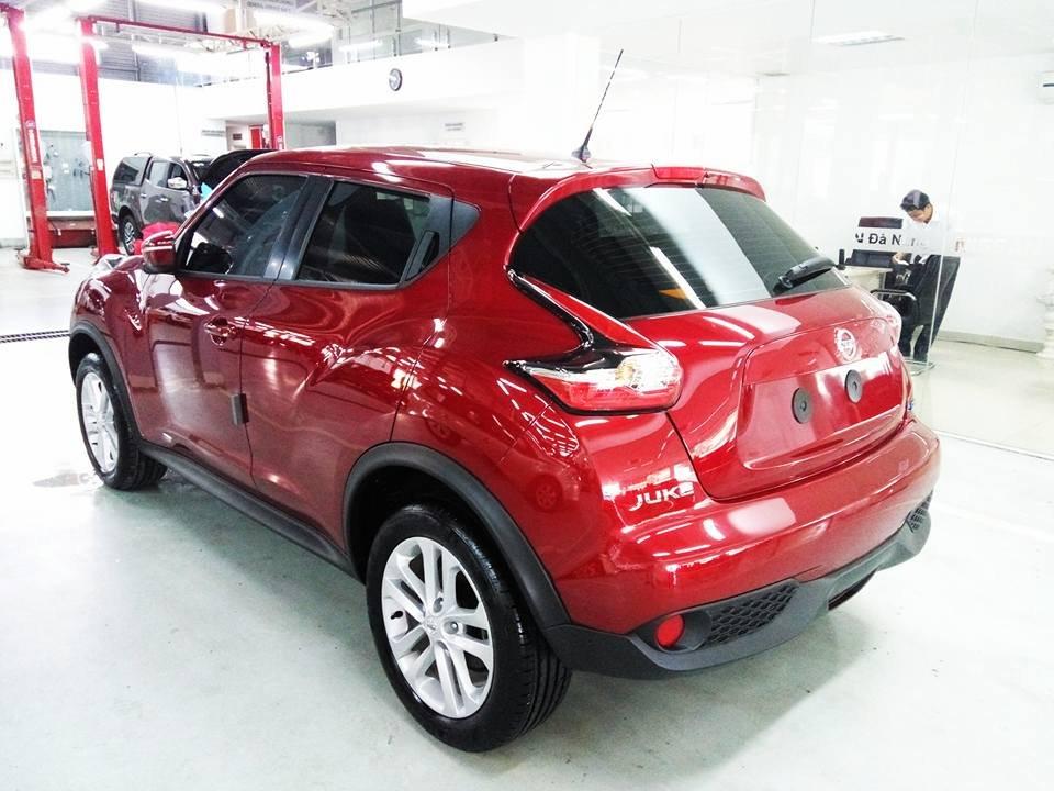 Bán ô tô Nissan Juke đời 2015, màu đỏ, nhập khẩu-4