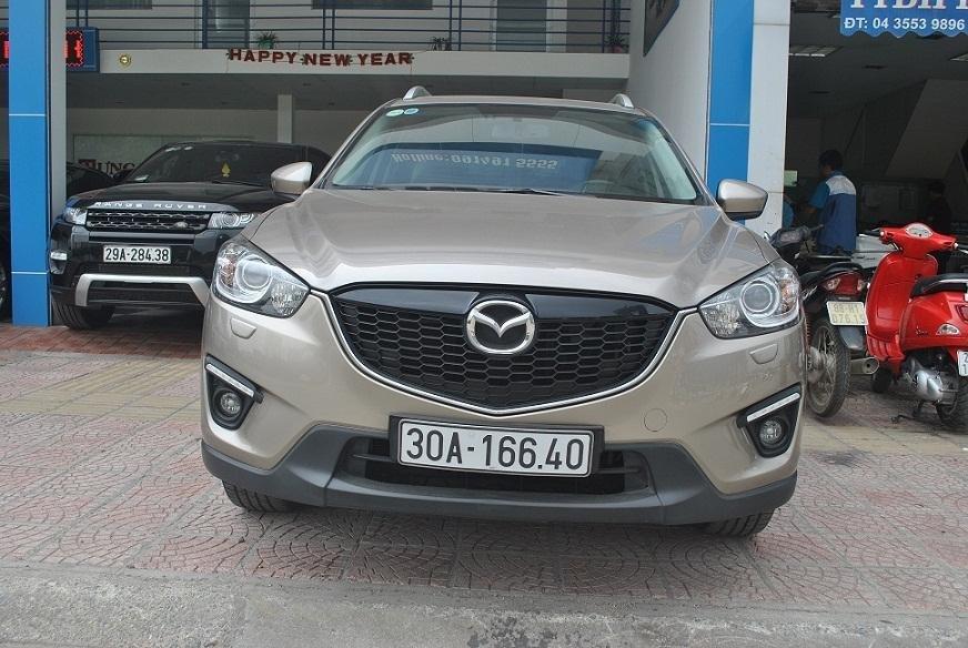 Cần bán lại xe Mazda CX 5 đời 2015, màu vàng cát, chính chủ-1