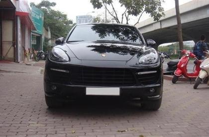 Bán xe Porsche Cayenne đời 2011, màu đen, nhập khẩu-0