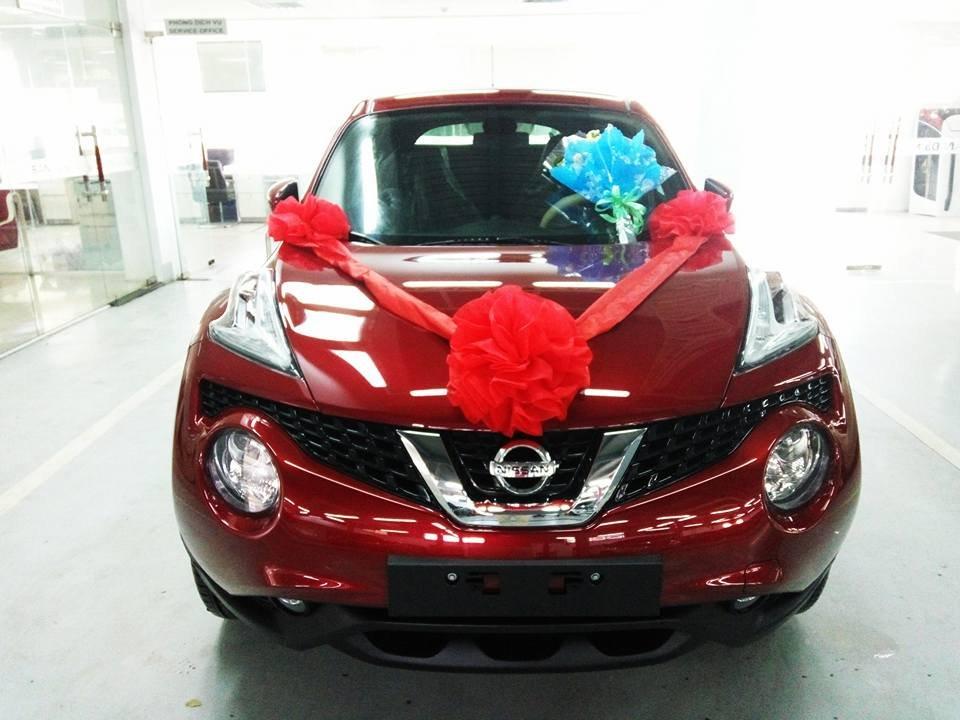 Bán ô tô Nissan Juke đời 2015, màu đỏ, nhập khẩu-6