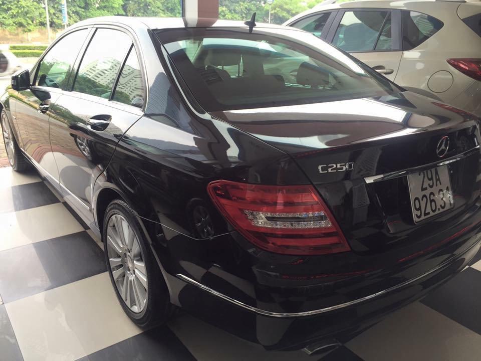 Bán ô tô Mercedes C250 đời 2011, màu đen, nhập khẩu chính hãng-3