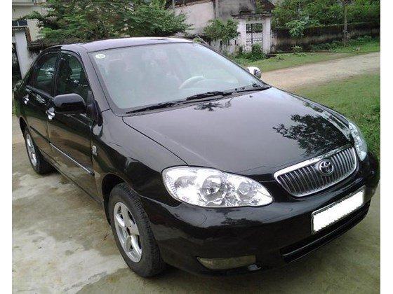 Cần bán lại xe Toyota Corolla Altis đời 2003, màu đen, nhập khẩu-0