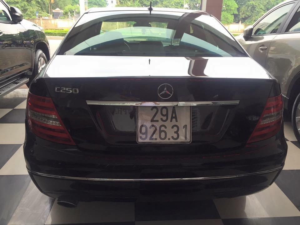 Bán ô tô Mercedes C250 đời 2011, màu đen, nhập khẩu chính hãng-4