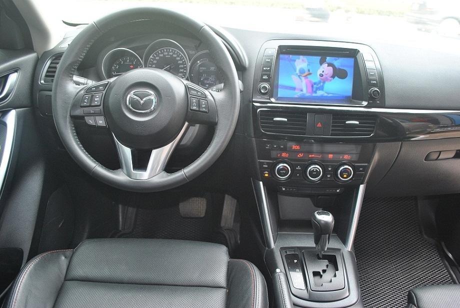 Cần bán lại xe Mazda CX 5 đời 2015, màu vàng cát, chính chủ-4