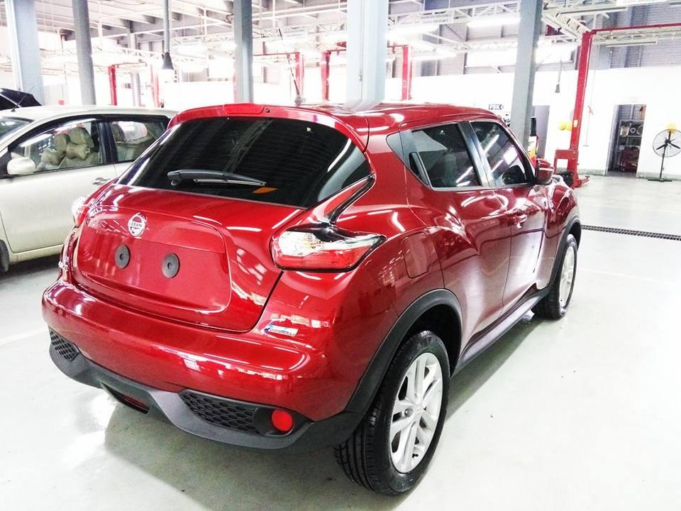 Bán ô tô Nissan Juke đời 2015, màu đỏ, nhập khẩu-1