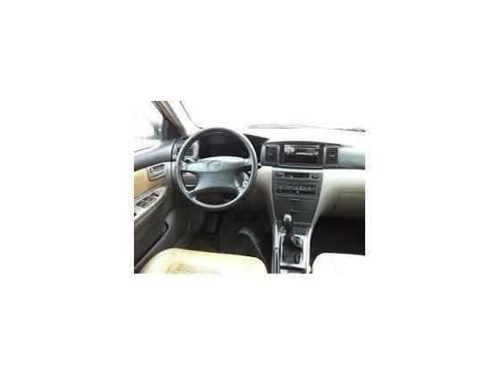 Cần bán lại xe Toyota Corolla Altis đời 2003, màu đen, nhập khẩu-1