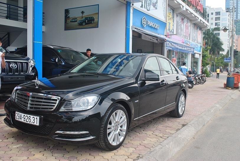 Cần bán gấp Mercedes C250 sản xuất 2011, màu đen-1