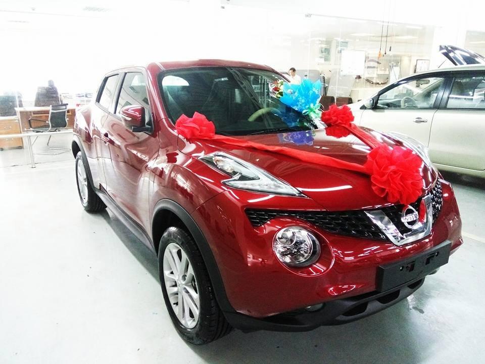 Bán ô tô Nissan Juke đời 2015, màu đỏ, nhập khẩu-0