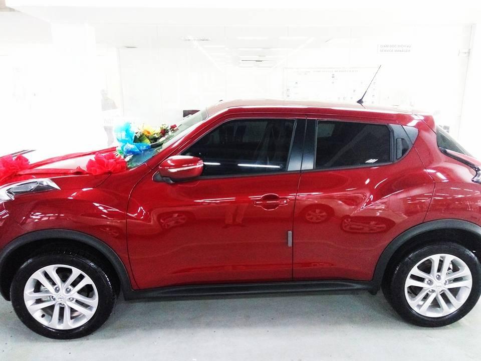 Bán ô tô Nissan Juke đời 2015, màu đỏ, nhập khẩu-2
