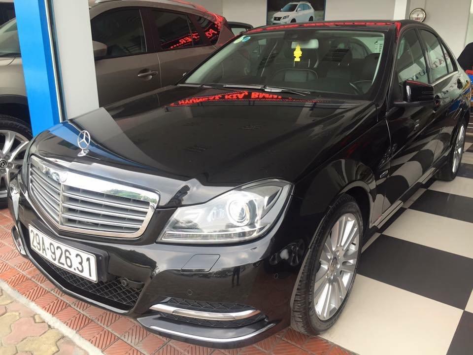 Bán ô tô Mercedes C250 đời 2011, màu đen, nhập khẩu chính hãng-0
