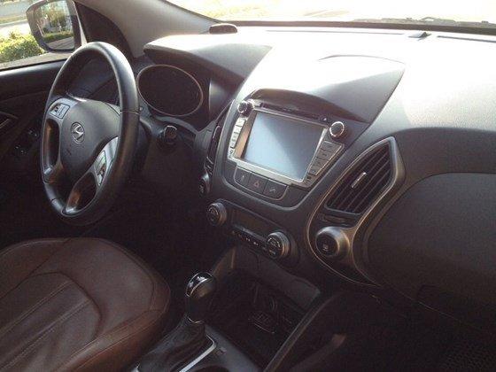 Bán ô tô Hyundai Tucson đời 2014, màu trắng, nhập khẩu-8