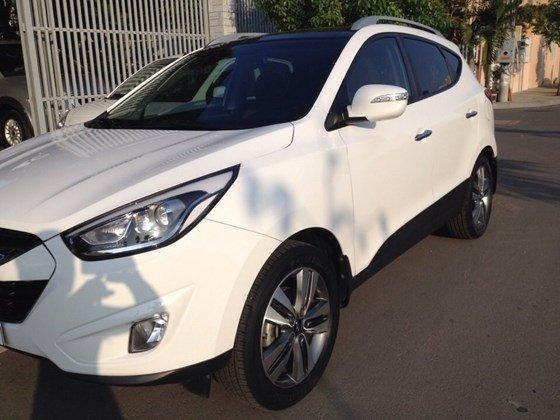 Bán ô tô Hyundai Tucson đời 2014, màu trắng, nhập khẩu-5