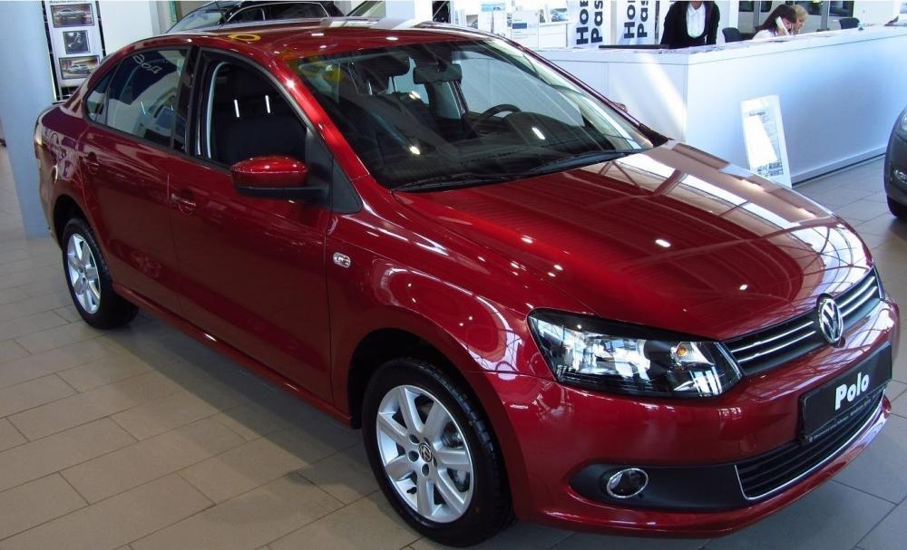 Bán Volkswagen Polo đời 2015, màu đỏ, nhập khẩu chính hãng-0