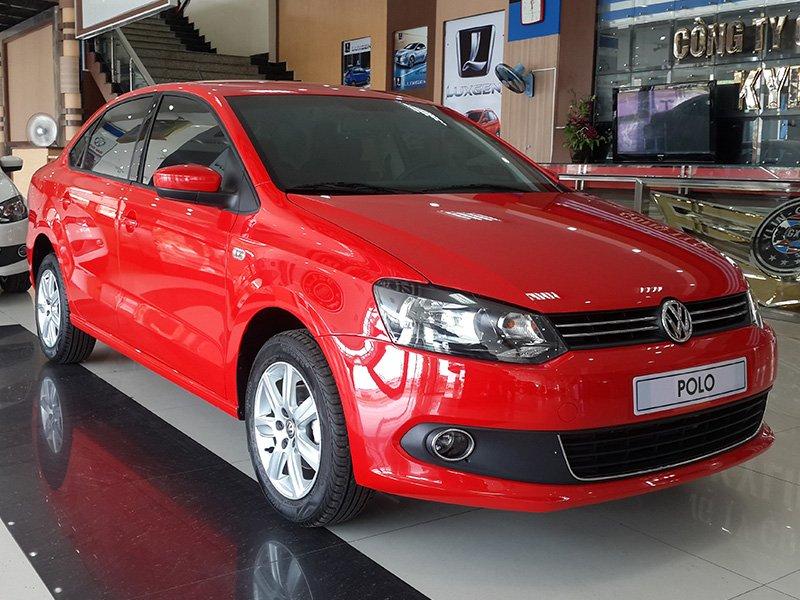 Bán Volkswagen Polo đời 2015, màu đỏ, nhập khẩu chính hãng-4