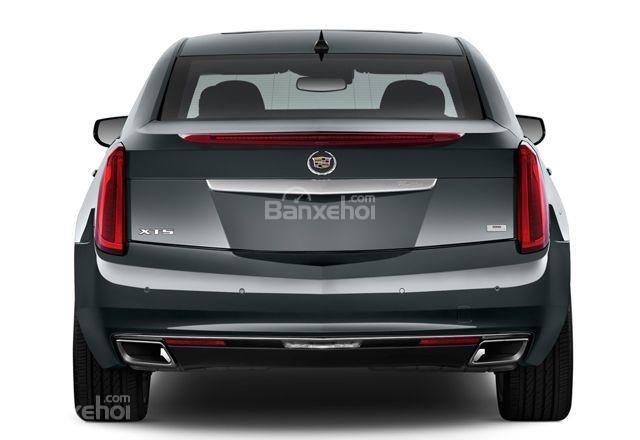 Đánh giá xe Cadillac XTS 2016: Ống xả được tái thiết kế
