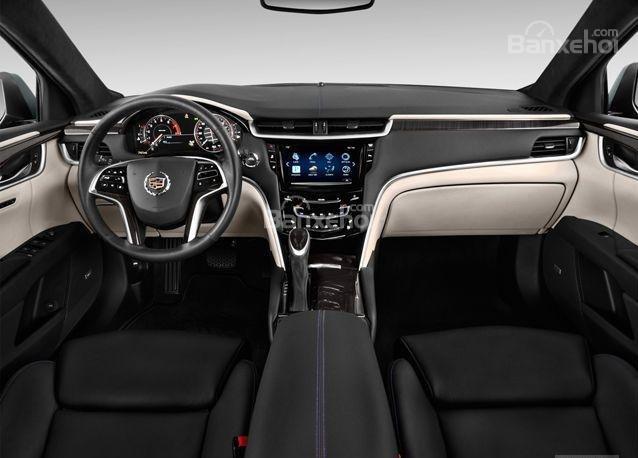 Đánh giá xe Cadillac XTS 2016: Mẫu xe này sở hữu màn hình rộng 12,3 inch