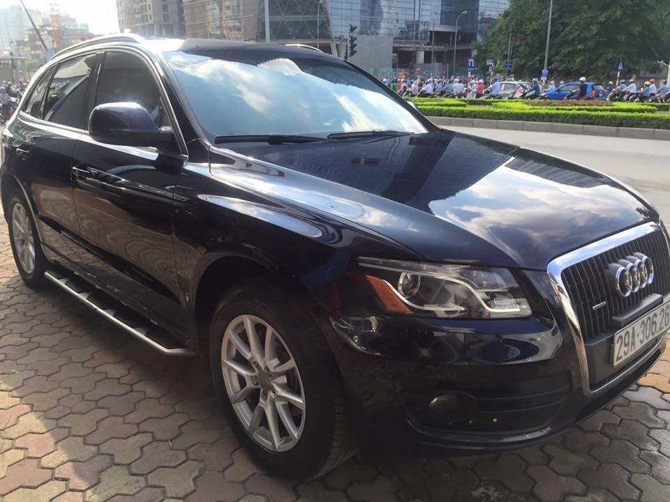 Cần bán Audi Q5 đời 2011, màu đen, nhập khẩu chính hãng, chính chủ-1