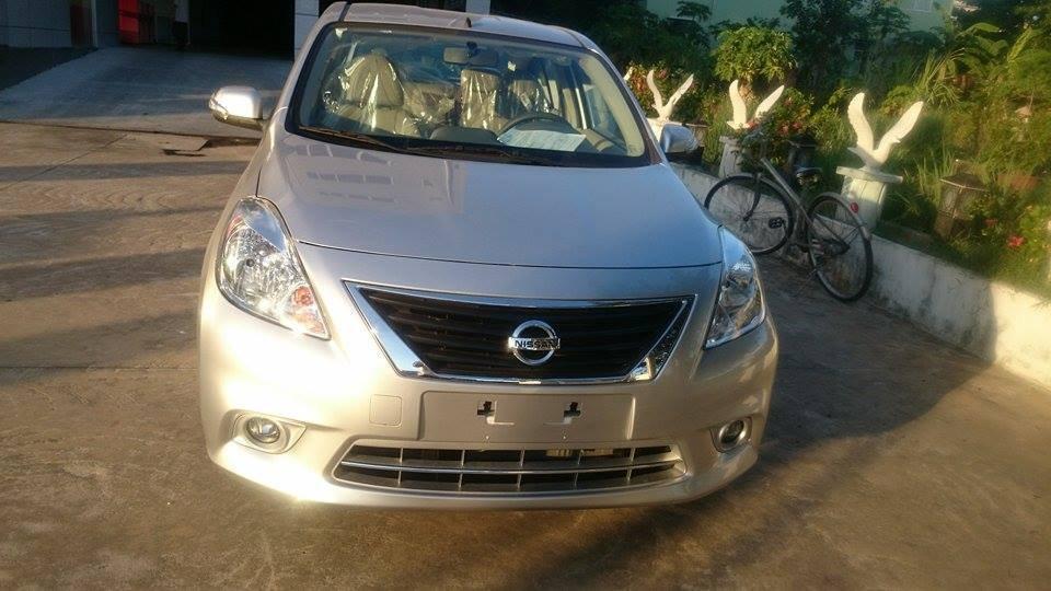 Nissan Đà Nẵng bán xe nissan sunny 2015, màu bạc, giá chỉ 485 triệu-1