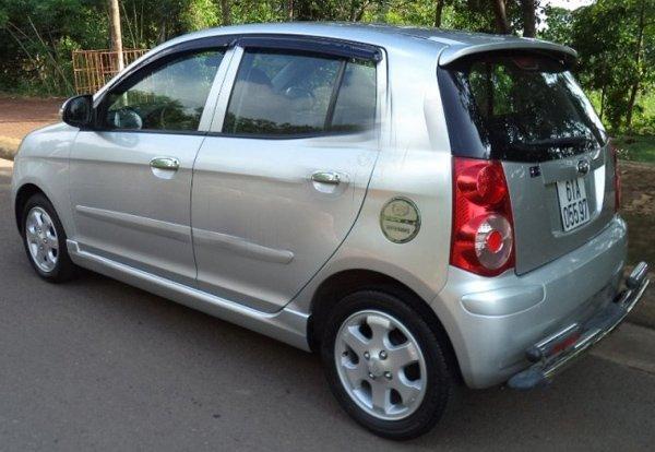 Cần bán xe Kia Morning 1.1AT đời 2008, màu bạc, còn mới, 278 triệu-0