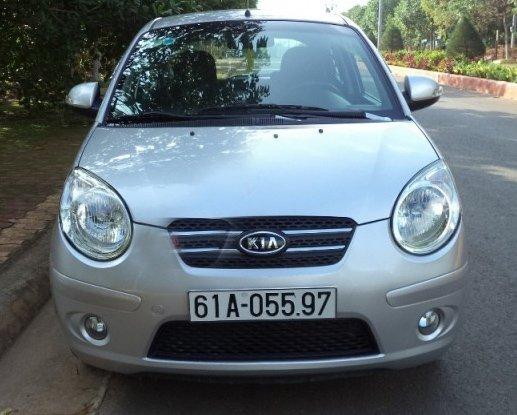 Cần bán xe Kia Morning 1.1AT đời 2008, màu bạc, còn mới, 278 triệu-1