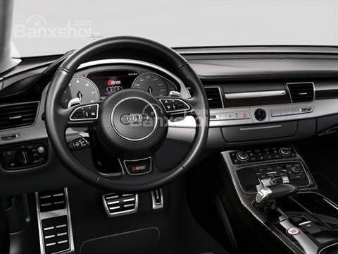 Đánh giá xe Audi S8 2016: Thiết kế vô lăng thể thao