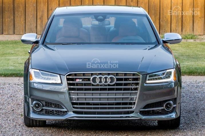 Đánh giá xe Audi S8 2016: Thiết kế phía trước xe rất nổi bật