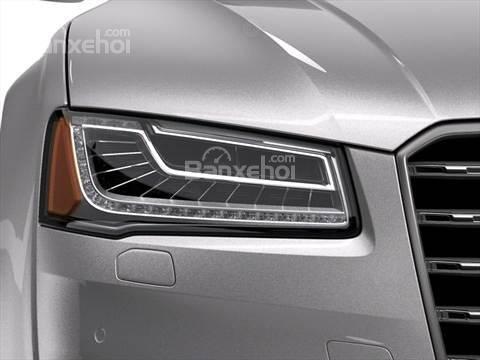 Đánh giá xe Audi S8 2016: Thiết kế đèn pha khá đẹp mắt