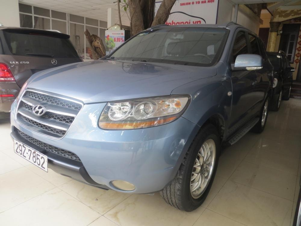 Cần bán Hyundai Santa Fe đời 2006, nhập khẩu chính hãng, số tự động, giá 595tr-1