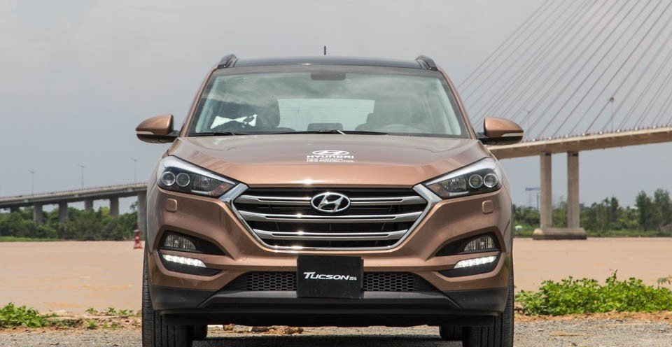 Đầu xe Hyundai Tucson 2016.
