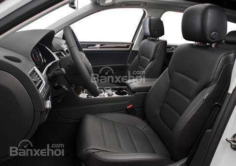 Đánh giá xe Volkswagen Touareg 2016: Thiết kế tạo sự thoải mái cho người ngồi