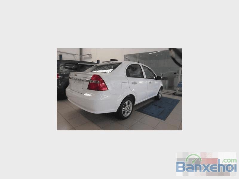 Bán ô tô mới 100% Chevrolet Aveo đời 2016, màu trắng, giá cạnh tranh-2
