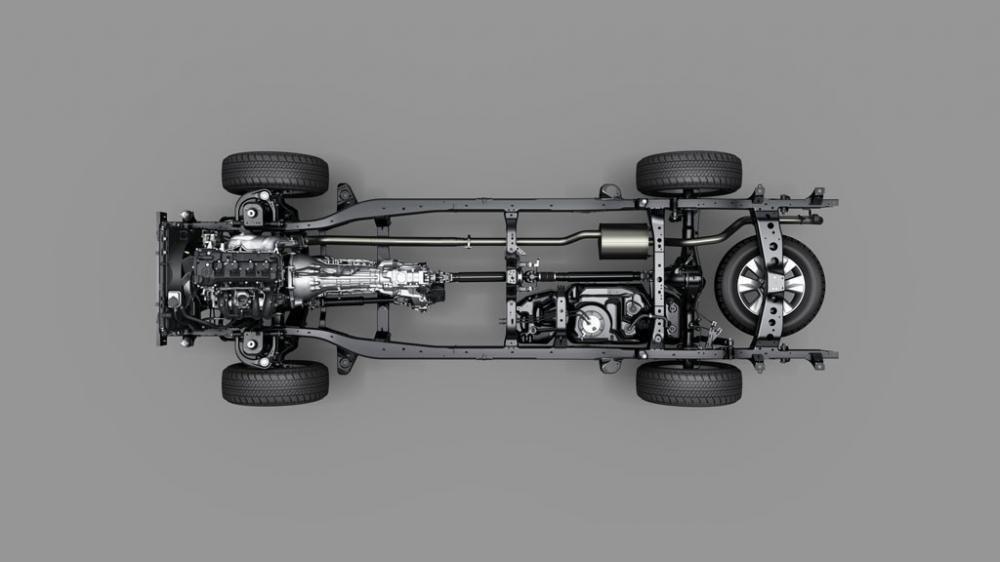Đánh giá xe Toyota Hilux 2015: Xe có chiều dài khá khiêm tốn.