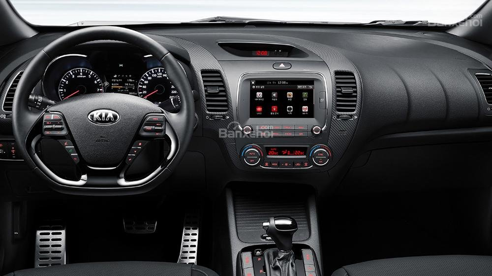 Đánh giá xe Kia K3 2016 phần tiện nghi 1