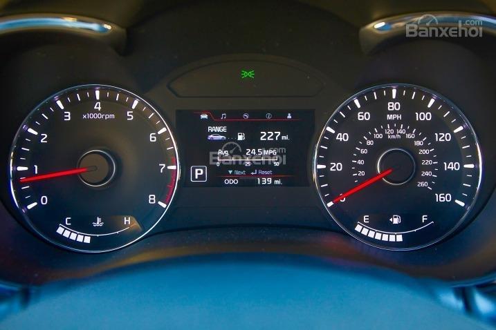 Đánh giá xe Kia K3 2016 phần tiện nghi 2