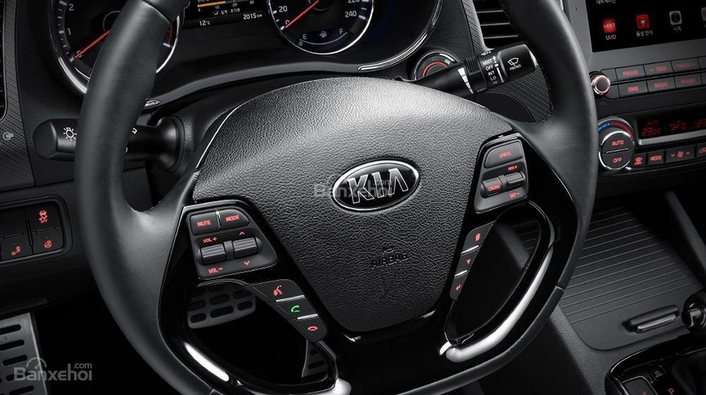 Đánh giá xe Kia K3 2016 phần nội thất 2