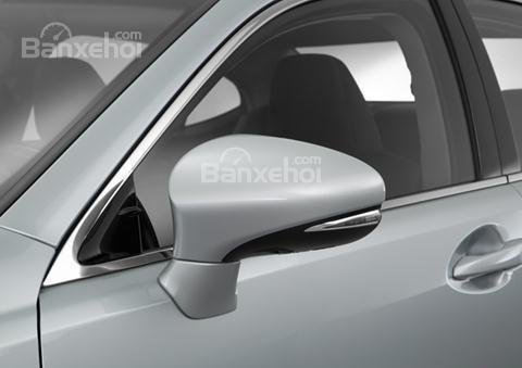 Đánh giá xe Lexus ES 350 2016: Gương chiếu hậu tích hợp LED