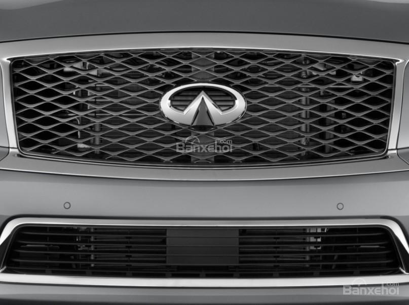 Đánh giá xe Infiniti QX80 2016: Thiết kế đặc trưng của hãng