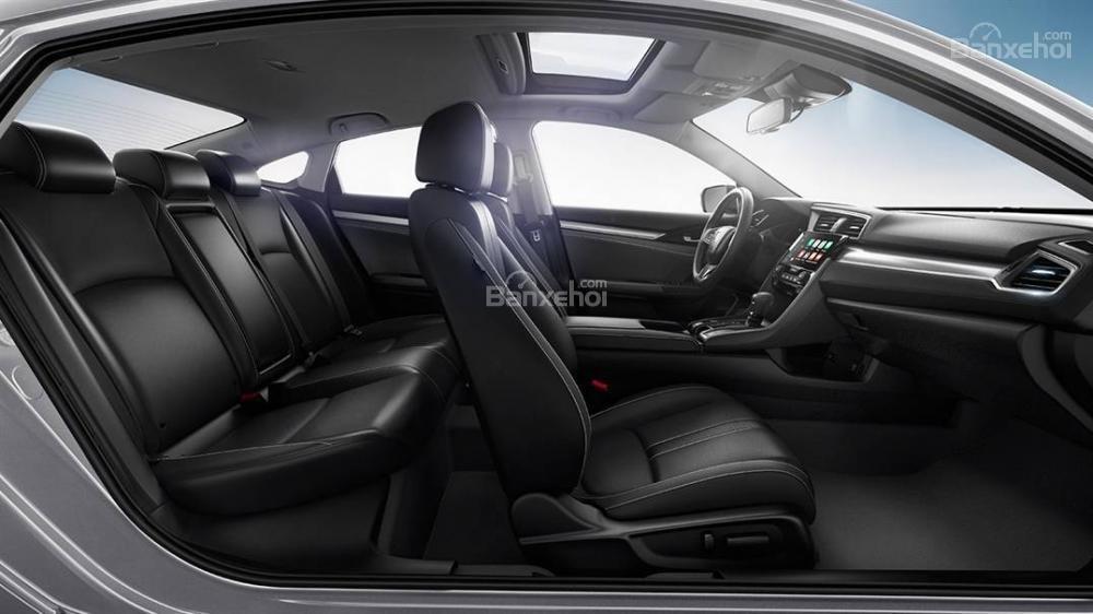 Nội thất Honda Civic 2016a.