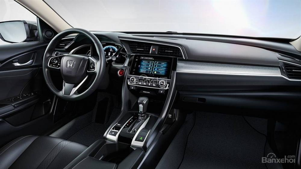 Tiện ích Honda Civic 2016b.