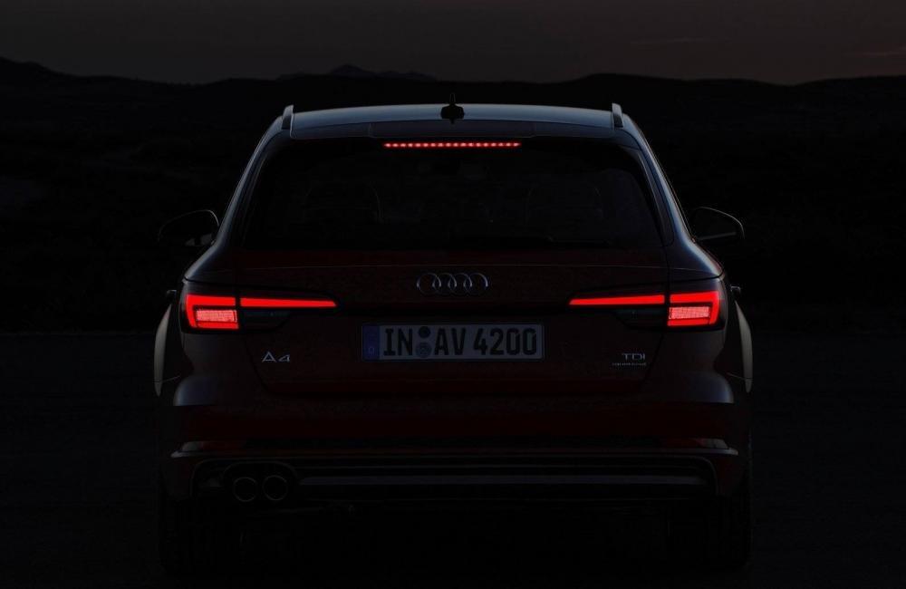 Đuôi xe Audi Avant 2