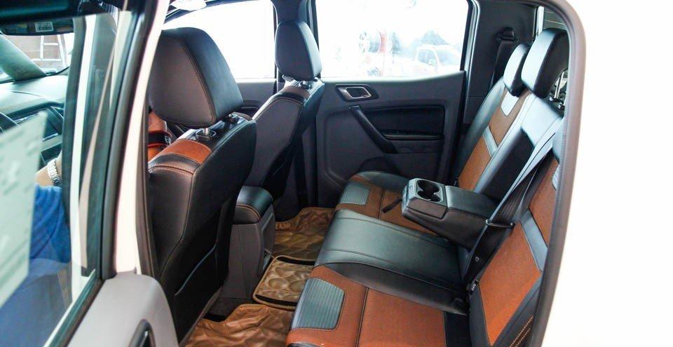 Ghế ngồi của Ford Ranger 2016.