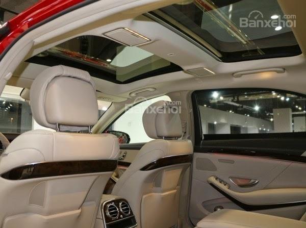 Đánh giá xe Mercedes-Benz S400L 2015 phần nội thất 4