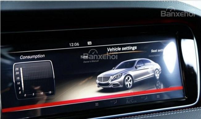 Đánh giá xe Mercedes-Benz S400L 2015 phần tiện ích 1